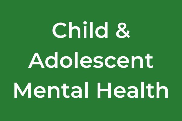 Child Adolescent Mental Health Category