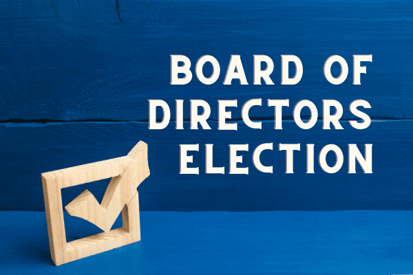 Board of Directors Election